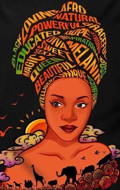 Africa Travel Uganda - Africa Wallpaper Inspiration - Shape Of Africa Art - Black Love Art, Black Girl Art, Art Girl, Arte Black, African Art Paintings, Black Art Pictures, Africa Art, Black Artwork, Magic Art