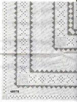 Gallery.ru / Фото #32 - Rico 59, 60, 61 - Fleur55555 Blanket, Crochet, Hardanger Embroidery, Crochet Crop Top, Chrochet, Rug, Blankets, Cover, Crocheting