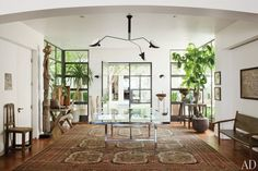 Ellen DeGeneres and Portia de Rossi at Home : Celebrity Style : Architectural Digest