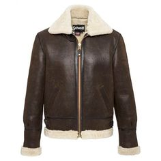Schott Classic B-3 Sheepskin Leather Bomber Jacket 257S $1090.00 ...