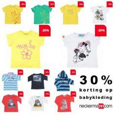 Actie van de dag: Neckermann babykleding korting 30%  #Neckermann #Korting #Aanbieding #Actie #Baby #KortingsWijzer