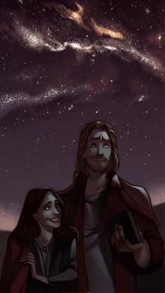 Thor and Jane: My favorite couple in the Marvel Universe. (sort-of-almost tied with Tony and Pepper)