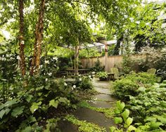 Before & After: A Brooklyn Townhouse with a Double-Wide Garden