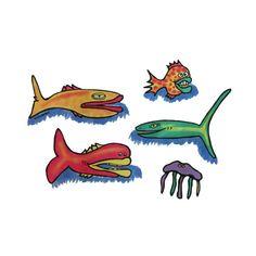 Fish Posse Pillowcase