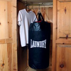 Punch Bag Laundry Bag - Beats the George Foreman Grill...