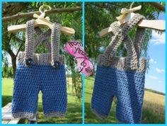 Newborn boys suspender pants (or short) custom made in any colors.   www.facebook.com/fromyinztoyall