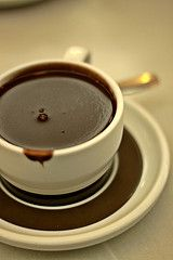 Hot Chocolate, my favorite warm drink! In cold winters or fresh mornings, I just love its taste!