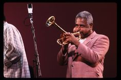 The great trumpeter Dizzy Gillespie, owner of the greatest cheeks (facial, anyway) in world history.