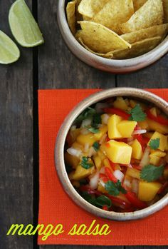 mango salsa for cinco de Mayo parties
