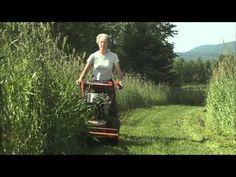 Vidéo tondeuse écolo  Fiskars, green lawnmower video - YouTube