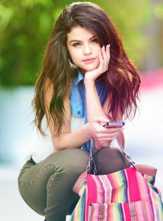 Selena Gomez, dang she's pretty, I've always had a crush on her