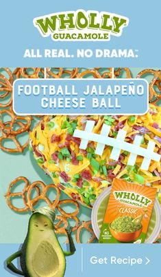 This Football Jalapeño Cheese Ball is so perfectly delicious, even those who don't love sports will come back for seconds.