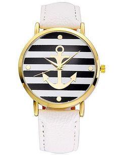 SKLIT 5 Farben Ankunftsart und weise Lederband Anker Genfer Uhren Frauen kleiden Uhren - http://uhr.haus/sklit-watches/sklit-5-farben-ankunftsart-und-weise-lederband