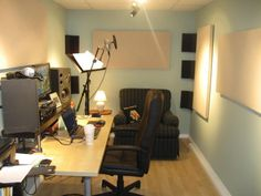 This is a nice use of space for a recording studio, this is probably the amount…