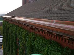 Cleveland, Ohio Copper Cornice and Built-In Gutter Restoration / Replacement | Recent Slate Roof and Copper Projects