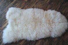 Echte Pelz Lammfell. Schaffell, Fell, natur, Naturfell, Peldecke ,pelzteppich
