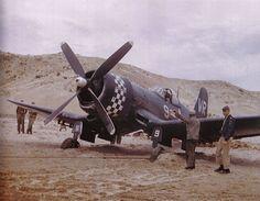 An F4U Corsair