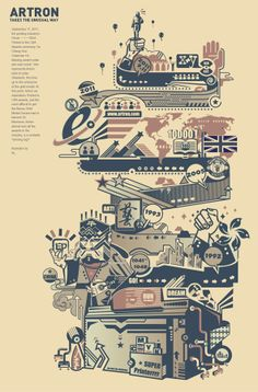 Two Commercial Illustrations by Fu Yang, via Behance. Shanghai.