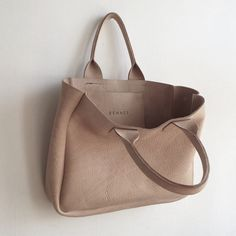 Rennes,  vegetable leather tote Available here