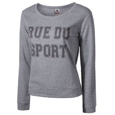 Een sportieve trui voor dames!