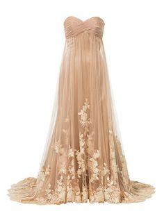 ニュアンスある色合いが洗練度をアップさせて Pale Color Formal Dresses, Wedding Dresses, Ball Gowns, Weddings, Color, Fashion, Dresses For Formal, Bride Dresses, Ballroom Gowns