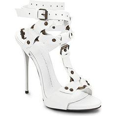 GIUSEPPE ZANOTTI Gladiator leather sandals £880.00