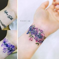 28 Best Wrist Cover-up Tattoos images in 2018 | Tattoo drawings ...