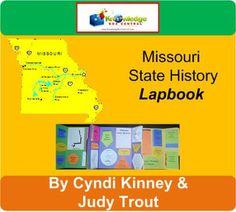 Missouri State History Lapbook - PDF Download [Download]