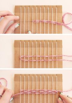 How to weave tutorial