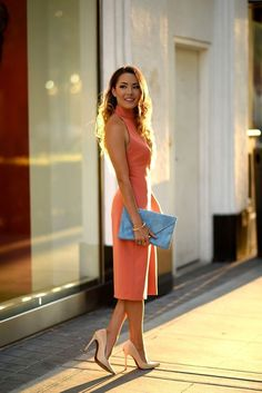 Zara Dress (similar from Nordstrom), David Yurman Ring, Asos Clutch (similar here), Schutz Heels Jessica Ricks Womens Fashion For Work, Love Fashion, Fashion Trends, Female Fashion, Petite Fashion, Hapa Time, Jessica Ricks, Fashion Vocabulary, Up Girl