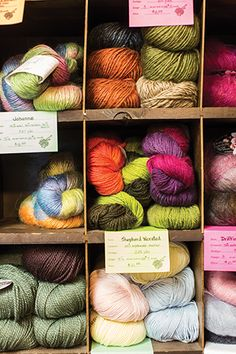 At The Needlecraft Center, Elaine McArn has been selling yarn for 43 years. #Davidson