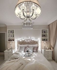 50  Romantic Bedroom Design Ideas for Couples_11 #bedding