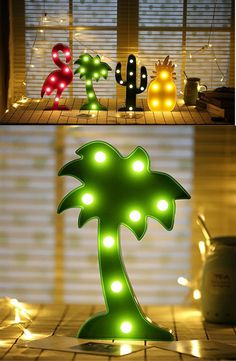 Lumiparty #3D #Cute Small #LED #Night #Light Bedroom Unicorn #Cloud Moon Star Heart Home #Decor Battery Powered #Wall #Lamp