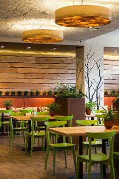 The project eco restaurant implemented in 2013  in the city of Kiev