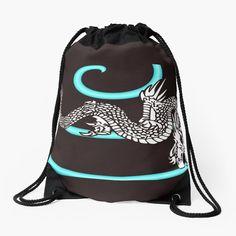 Promote | Redbubble Drawstring Backpack, Dragon, Backpacks, Bags, Collection, Fashion, Handbags, Moda, Fashion Styles