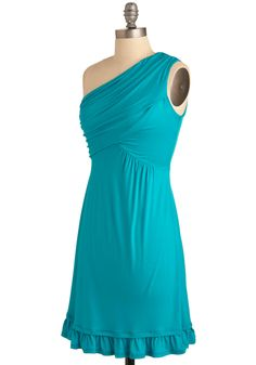 Midnight Sun Dress in Aqua | Mod Retro Vintage Dresses | ModCloth.com