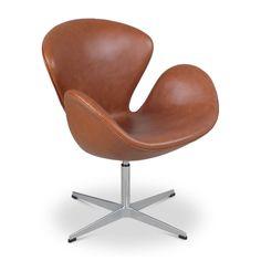 Swan Chair, Copenhagen Hotel, Arne Jacobsen, Cool Chairs, Green Velvet, Vintage Leather, Furniture Design, Modern Furniture, Soft Leather