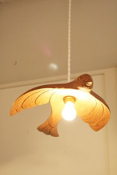 lovely bird lamp.