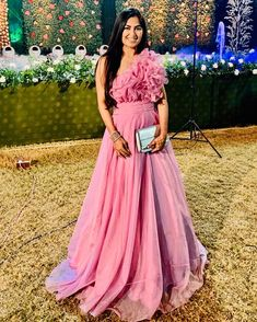 Likes, 29 Comments - Sahiba Arora Party Wear Western Gowns, Gown Party Wear, Indian Party Wear, Indian Wedding Outfits, Bridal Outfits, Party Gowns, Indian Gowns Dresses, Indian Fashion Dresses, Indian Designer Outfits