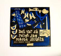 Poul Stroyer - Record Cover Lennart Hellsing., via Etsy.