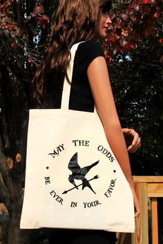 #HungerGames Tote...can someone make these for me, please?