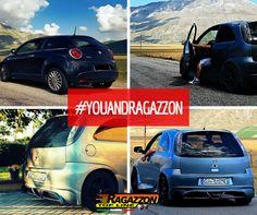 #YouAndRagazzon - Francesco Bellocchi, Opel Corsa + Alfa Mito. #Tuning #Customers #Cars