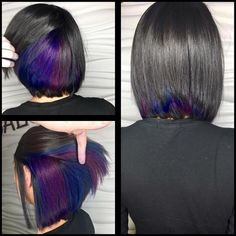 Image result for peek a boo hair