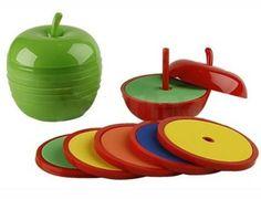No pueden faltar en tu cocina canchera estos posavasos con forma de manzana!!! son divinos!!! Encontralos en Yo Quiero Uno!