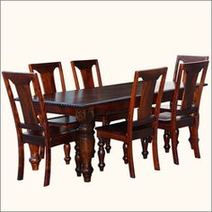 Lone Star Large Rustic Dining Table with Rope Edge Carving