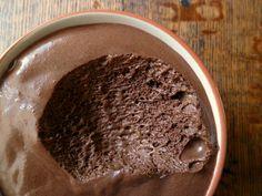 Chocolate Mousse. Freeze to make it like an ice cream!  Yummmm FMD Fast Metabolism