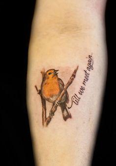 Robbin tattoo - Malan Tattoo Dublin, Joel Tamsalu