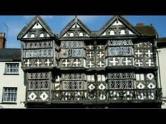 The Feathers Hotel, Ludlow. The Tudor style half-timbered building, noted for its Jacobean finishings, was built by local lawyer Rees Jones in Old Pub, British Countryside, Herefordshire, Tudor Style, Photo Location, Queen Anne, Perfect Place, Interior Architecture, Britain