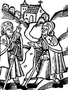 """""""Guida del Pellegrino"""" ed.1521 Lipsia"""