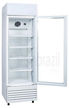 Geladeira / Refrigerador Expositor Porta de Vidro 260 Lts (Visa Cooler) - LG-260